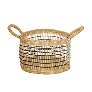 Seagrass Storage Baskets l Open Weave - Set of 2 l Perk Up Your Day
