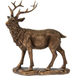 Bronze Stag Ornament l Statue l Sculpture - Perk Up Your Day