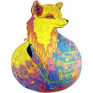 Animal Jigsaw Puzzle Fox
