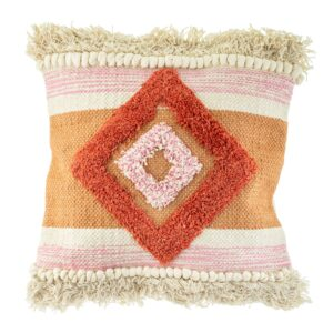 Diamond Tufted Cushion / Nevada - Orange