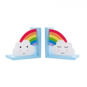 rainbow bookends